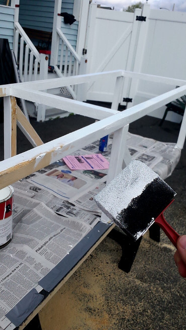 Painting the Catio
