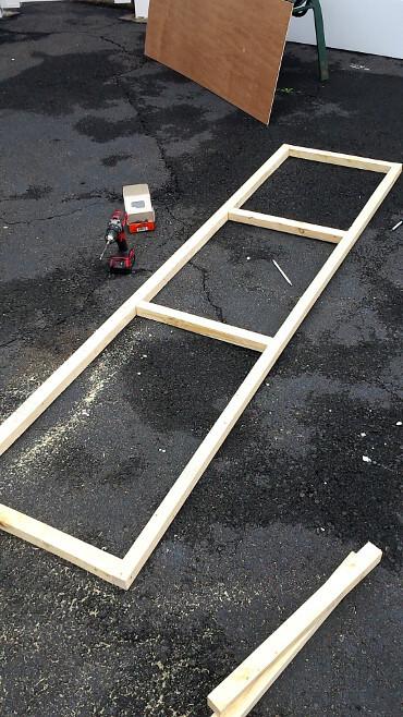 Catio floor frame